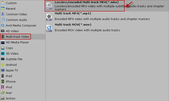 copy blu-ray to mkv keeping 5.1 audio