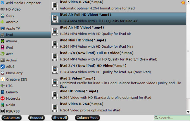 convert dvd to ipad air mp4