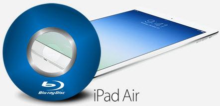 play blu-ray movies on ipad air
