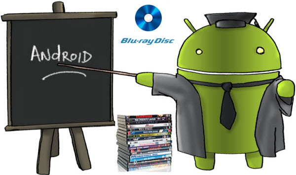 Watch/Play/Download Blu-ray movies to Android Tablet & Samrtphone