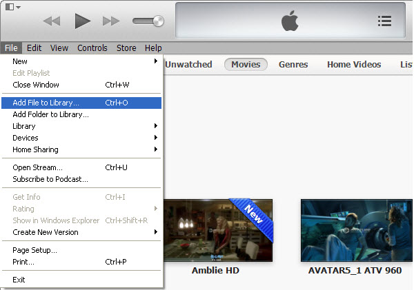 add-video-to-itunes-11-library