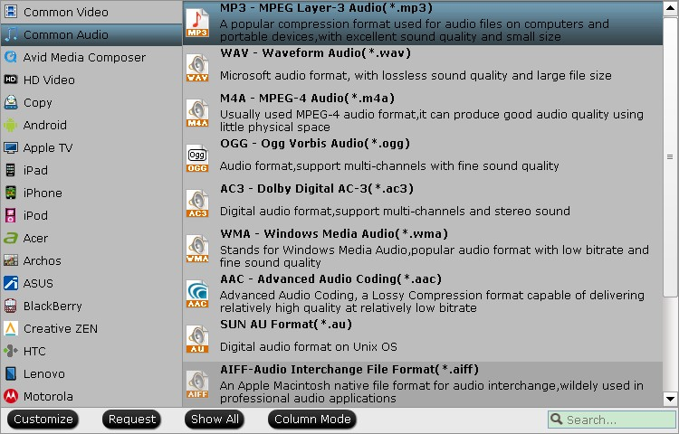 convert audio from video to mp3