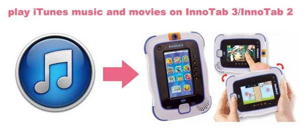 Make it possible to play iTunes music and movies on InnoTab 3/InnoTab 2