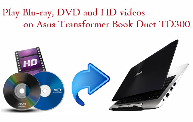 Best all-in-one converter for converting Blu-ray, DVDs and HD videos to Transformer Book Duet TD300