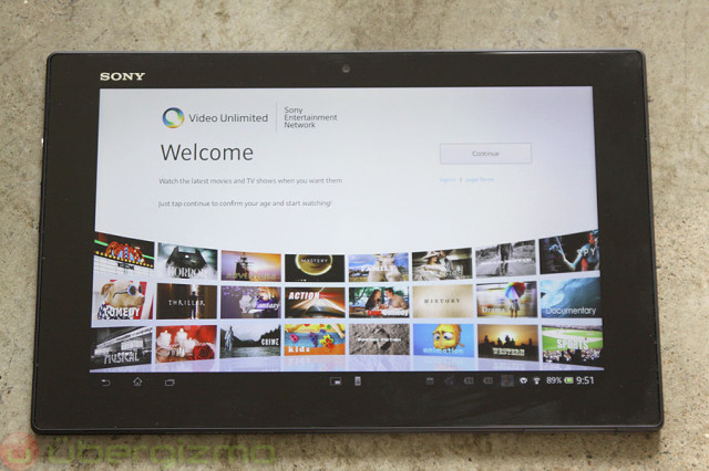 Enable Sony Xperia Z2 Tablet to Play DVD (ISO) Image Files