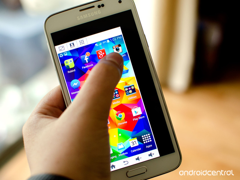 How to set up your Galaxy S5 for better one-handed use