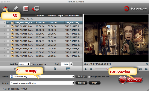 Directly copy Blu-ray to folder put on KDLINKS Media Player Bdmagic-for-mac-1-1