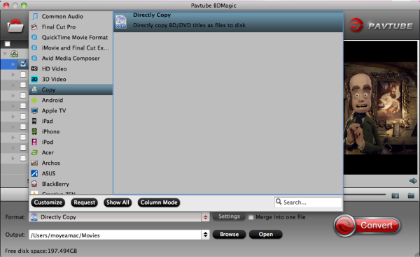 Directly copy Blu-ray to folder put on KDLINKS Media Player for watching