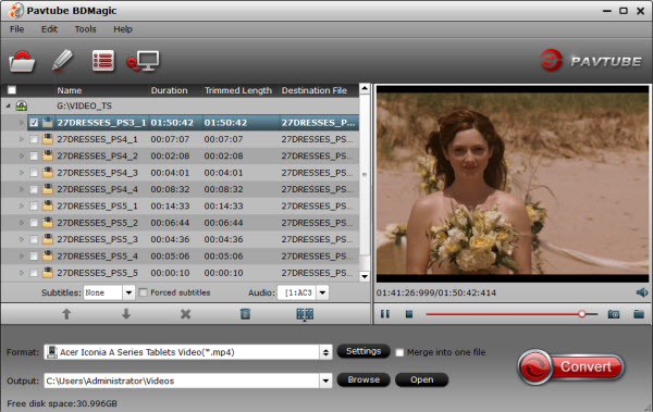 Backup and Rip Blu-ray Movies for Playback on all Acer tablets Pavtube-bd-magic-1