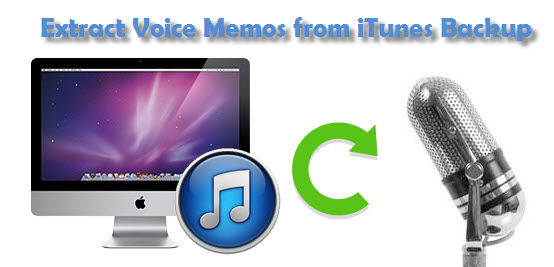 How to recover deleted voice memos from iPhone5/5S/5C/4/4S