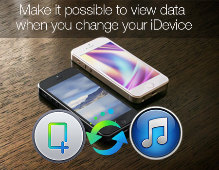 Make it possible to view data when change your iDevice View-itunes-data-when-change-idevice