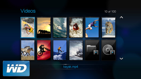 Stream 1080p Blu-ray movies to WD TV HD Media Player
