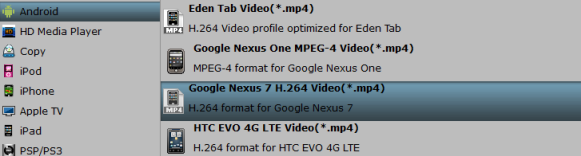 google nexus 7 profile How to Play MP4 on Google Nexus 7 2016?