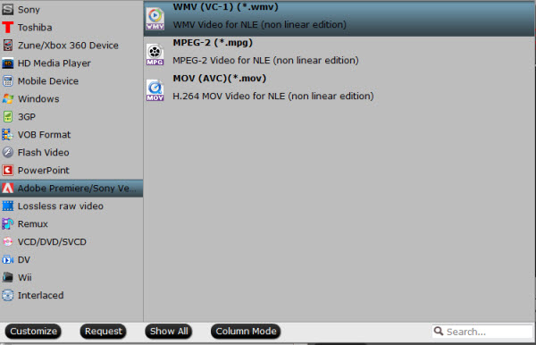 Encode OBS FLV files to Windows Editor Premiere-pro-supported-format