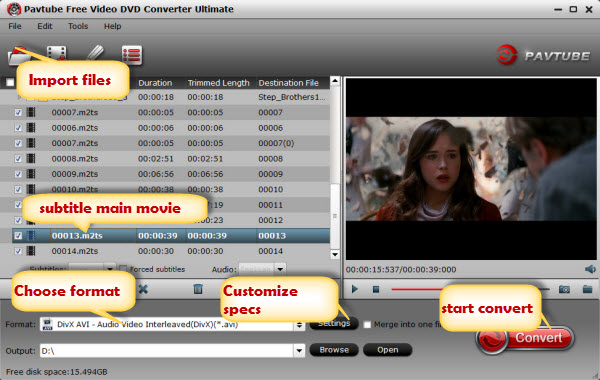 best free mkv to avi converter