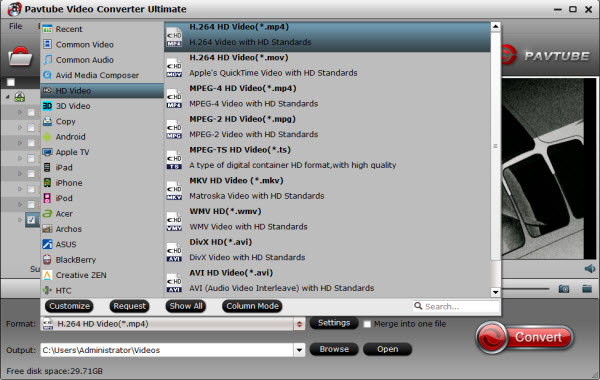 5.1 channel AAC/DTS/WAV to AC3 5.1