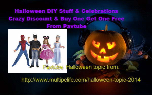 Buy one get one free – Pavtube Halloween Giveaway 50% discount