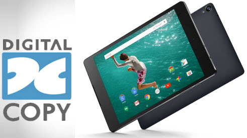 Best solution to Record Digital Copy to Nexus 9 tablet for watching