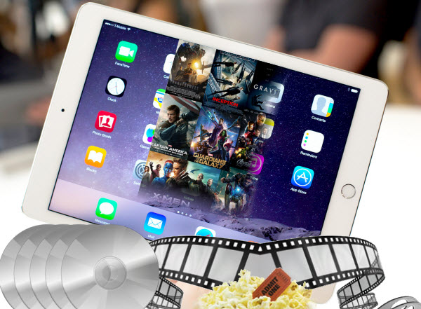 Why not Backup personal sci-fi Blu-ray collection on iPad Air 2 keeping 1080p quality?
