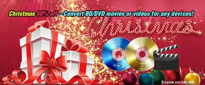 Pavtube Upgrade! Support H.265/HEVC, XAVC, Latest Blu-rays! Merry-christmas