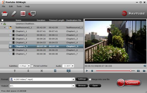 Rip a Blu-ray movie to HEVC/H.265 MP4 on Windows Blu-ray-to-hevc-converter