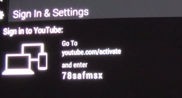 Link Roku with your YouTube account
