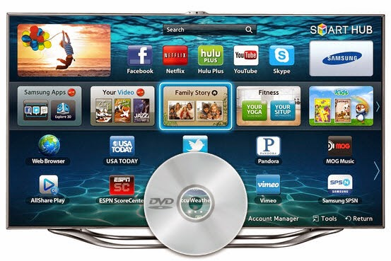 How to connect and play a DVD on Samsung Smart TV - EVO 3D forum ...