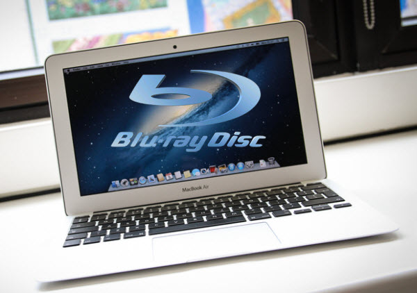 Copy Blu-rays to 12-inch Macbook Air