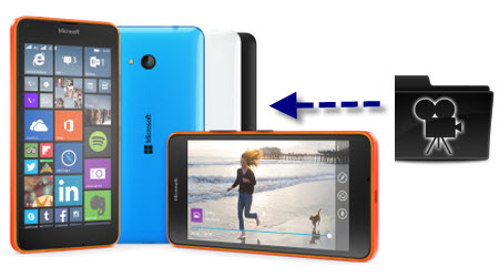 Put MKV, AVI, VOB, FLV, WMV, MTS to Lumia 640/640 XL for playback