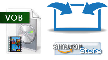 Merge two vob files for uploading to Amazon store