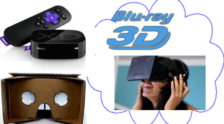 Convert 3D Blu-ray for Roku, Google Cardboard, or Oculus Rift