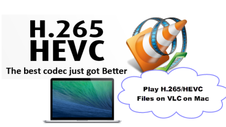 Enjoy HEVC/H.265 files to VLC on Mac, iMac, MacPro, Macbook