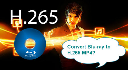 Convert Blu-ray video to play on H.265 MP4 player