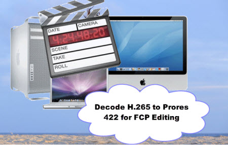 Transcode H.265(HEVC) video to Final Cut Pro for Smooth Workflow