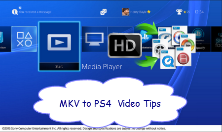 MKV to PS4 Tips – Does Sony PS4 support MKV video files?