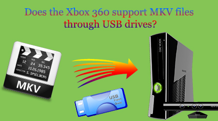 Two Ways – Does the Xbox 360 Support MKV files through USB drives?