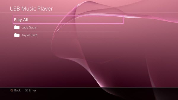 Does Sony PS4 support to play FLAC/DTS/AC3/WAV?