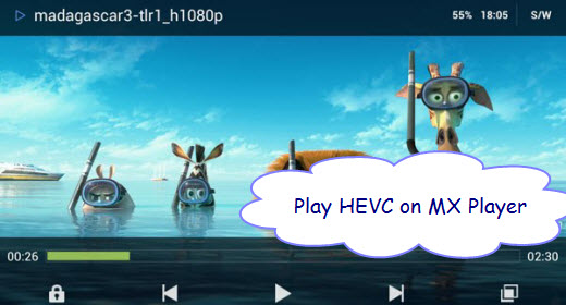 [Resolved] MX Player Can Playback HEVC/H265 codec