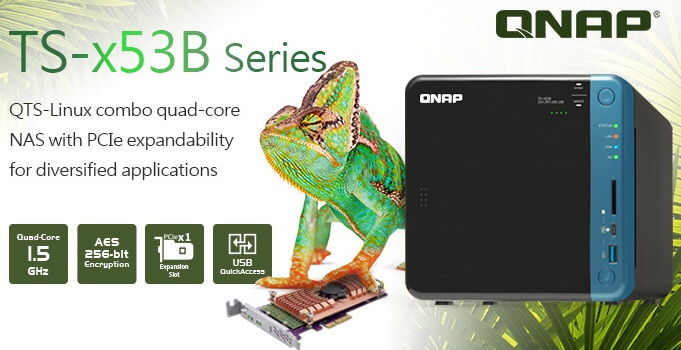 Store and Stream Blu-ray/DVDwith QNAP TS-x53B Series NAS